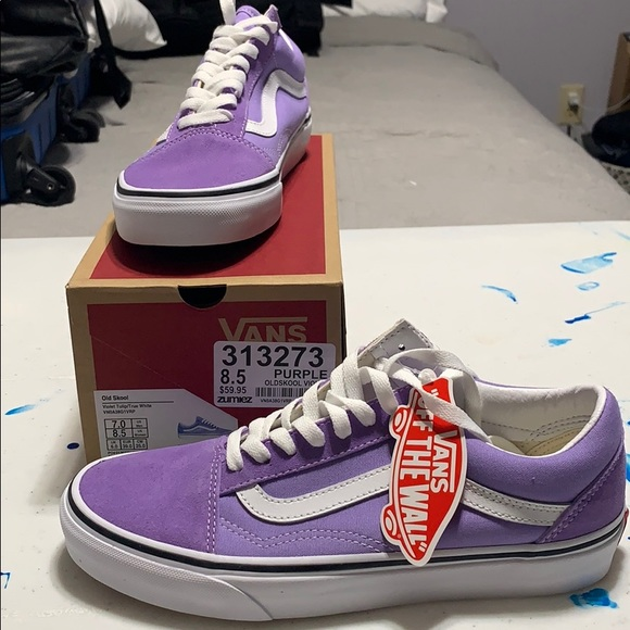 New In Box Old Skool Violet Tulip Vans